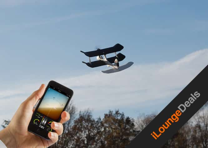 Daily Deal: Last chance to get the SmartPlane iOS controlled aircraft for only $49.99