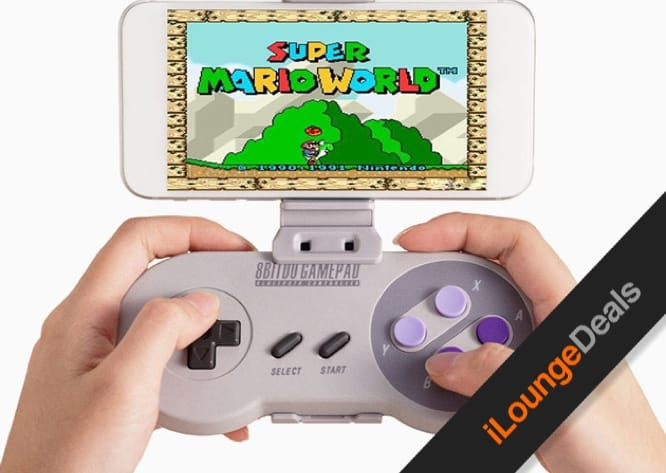 Daily Deal: SNES30 Bluetooth Game Controller & Smartphone Holder