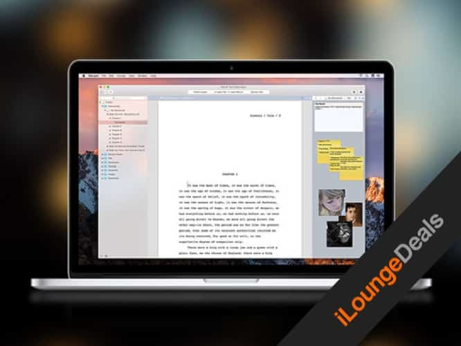 Daily Deal: Storyist for Mac