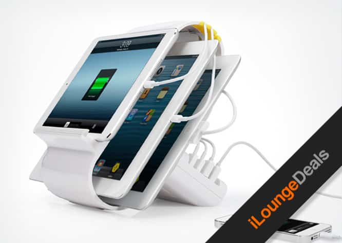 Daily Deal: Sydnee 4-port Smart Charging Station, $79