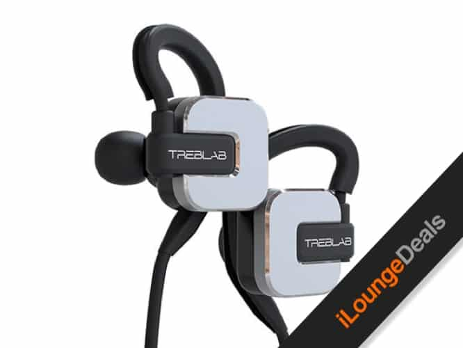Daily Deal: Treblab RF100 Magnetic HD Noise Cancelling Earphones