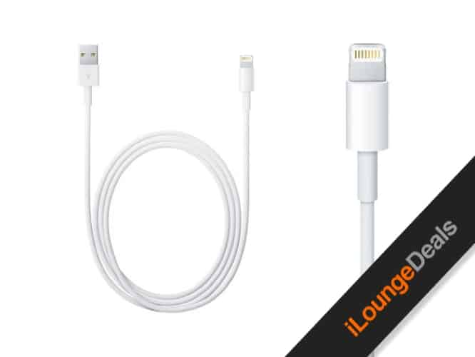 Daily Deal: Two-Meter MFi-Certified Lightning Cables, Set of 2