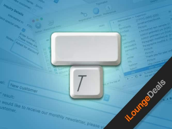 Daily Deal: Typinator Typing Assistant