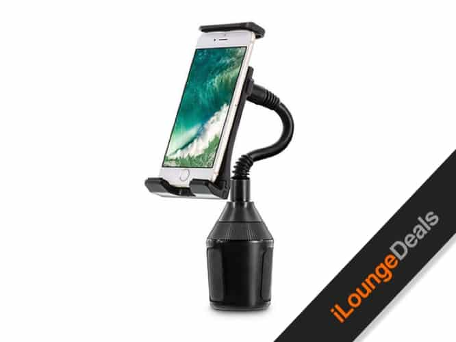 Daily Deal: U-Grip Cup Holder Car Mount for Phones and Tablets
