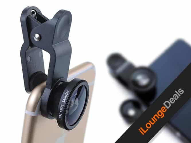 Daily Deal: Universal 3-in-1 Lens Kit for Smartphones & Tablets