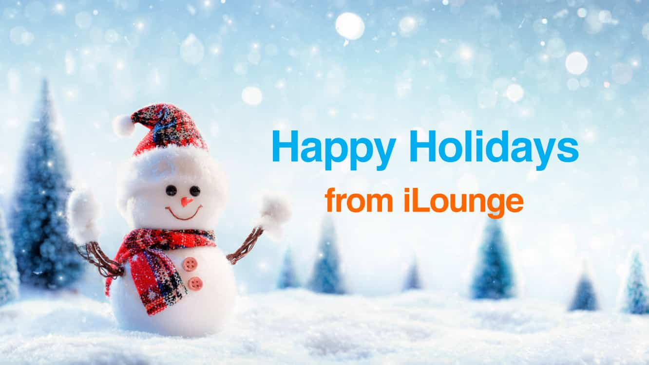 Merry Christmas and Happy Holidays from iLounge