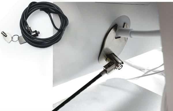 Maclocks iMac Cable Lock + RAM Security Plate
