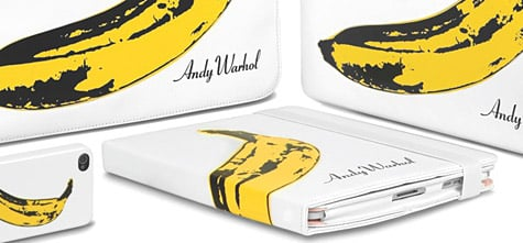 Incase debuts Andy Warhol cases for iPhone, iPad