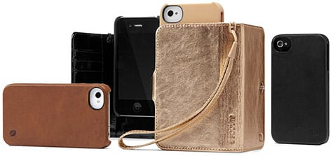 Incase intros leather cases for iPhone 4, 4S
