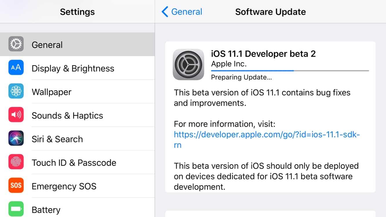 Apple releases second developer betas for iOS 11.1, tvOS 11.1 + watchOS 4.1