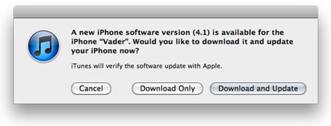 iOS 4.1 for iPhone, iPod touch now available