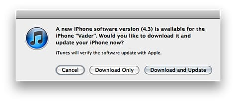 Apple releases iOS 4.3 for iPhone, iPod touch, iPad