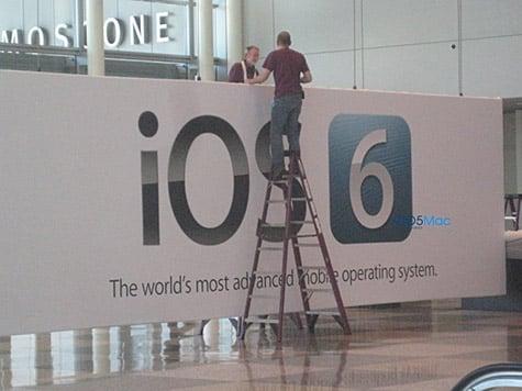 WWDC banner confirms iOS 6 announcement