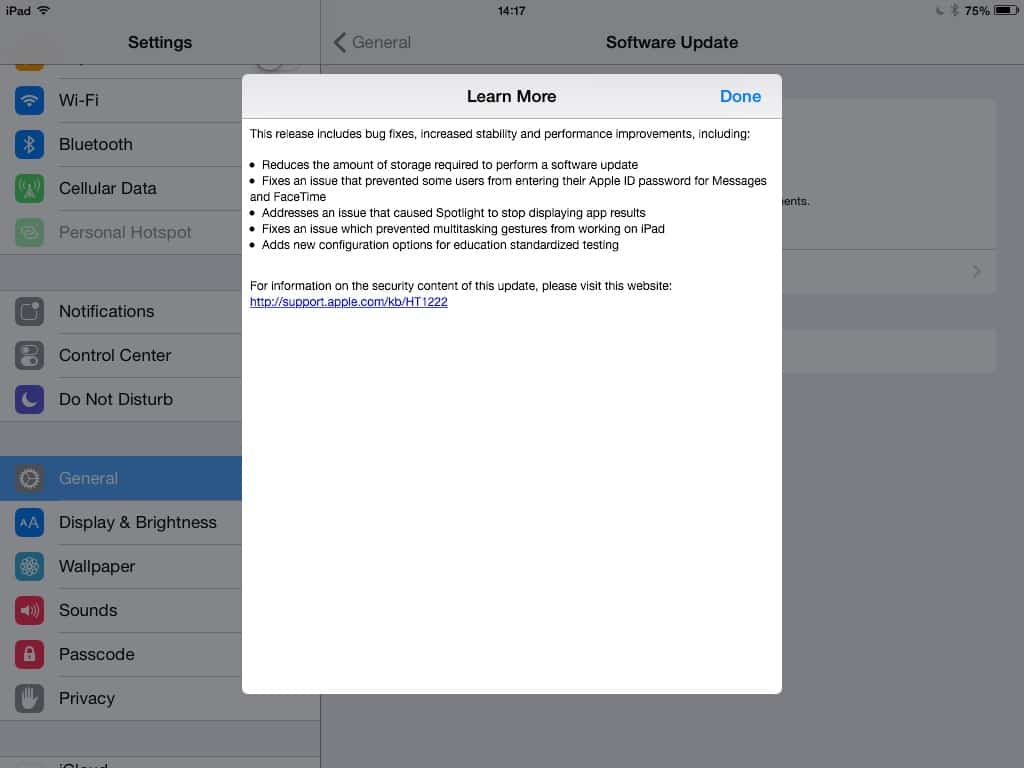 Apple releases iOS 8.1.3