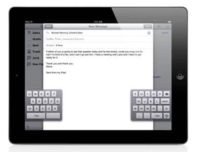 New in iOS 5: Accessibility Changes, iPad Gestures + Split Keyboard