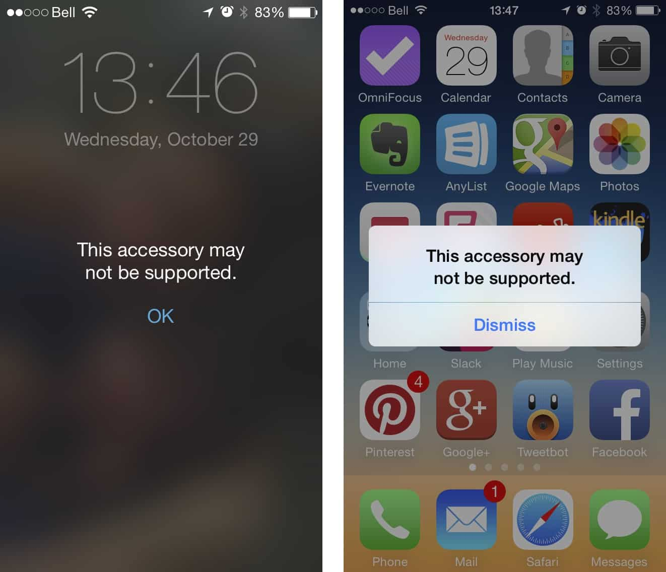 iOS updates causing Mophie Juice Pack Air compatibility problems?
