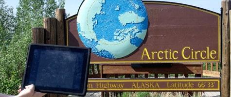 Photo of the Week: iPad in Alaska