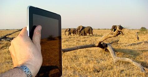 Photo of the Week: iPad in Botswana