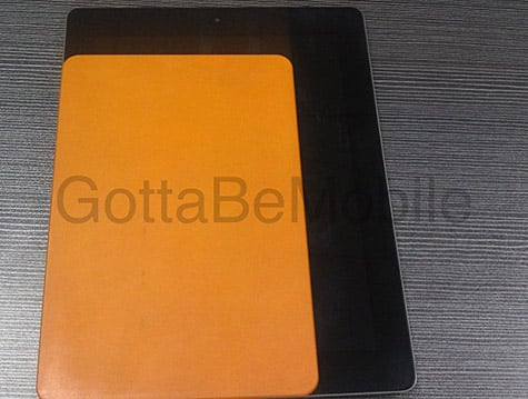 Purported 'iPad mini', next-gen iPhone case molds pictured