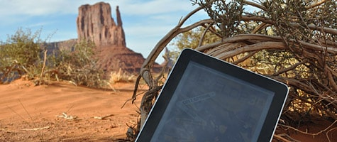Photo of the Week: iPad in Monument Valley
