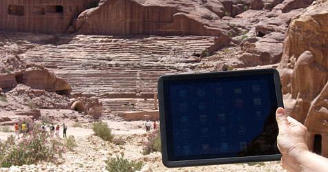 Photo of the Week: iPad in Petra