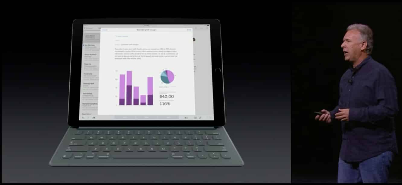 Apple introduces iPad Pro with Smart Keyboard, Pencil