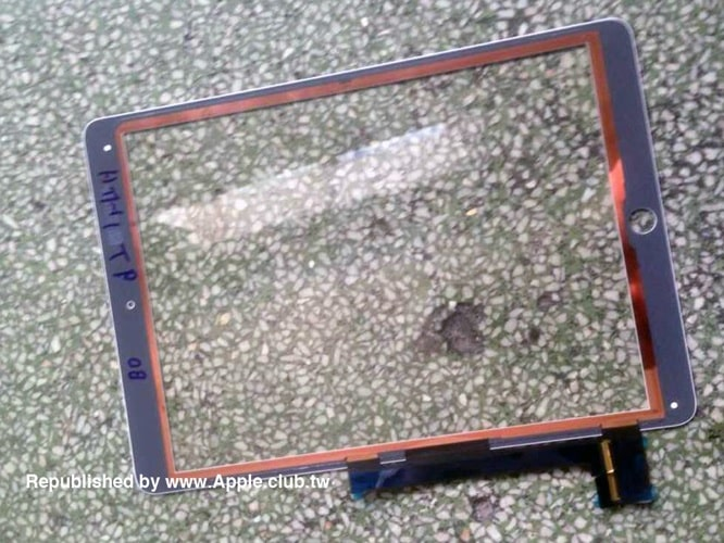 Alleged iPad Air 2 parts leak shows A8X chip, Touch ID