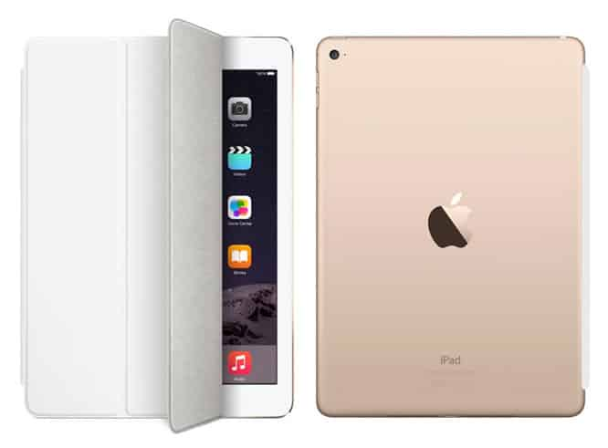 New iPad Smart Cases, Covers shown for iPad Air 2