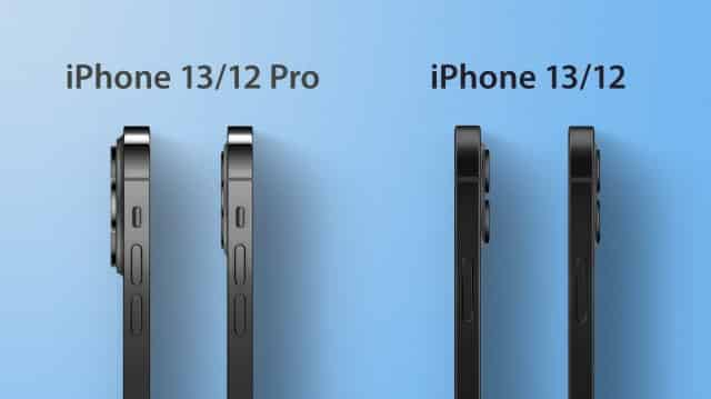 iPhone 13 thickness