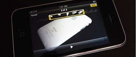 iPhone 3GS unboxing and comparison gallery online