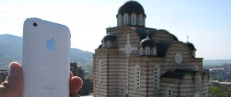 Photo of the Week: iPhone 3G in Kosovo