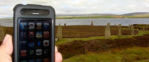 Photo of the Week: iPhone 3G in Scotland