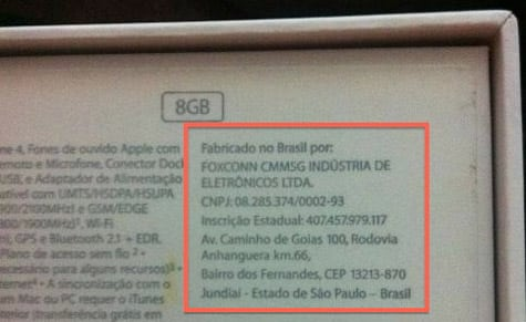Apple now selling domestically-made iPhone in Brazil