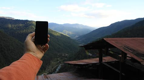 Photo of the Week: iPhone 4 in Bhutan