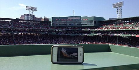 Photo of the Week: iPhone 4S at Fenway