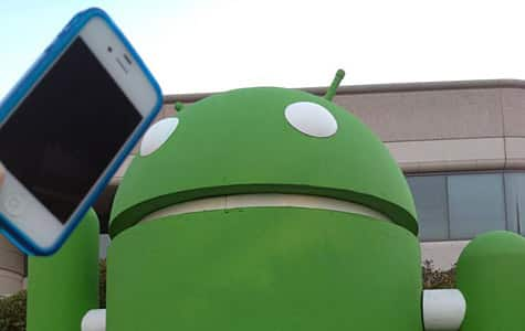 Photo of the Week: iPhone at the Googleplex