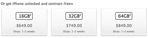 Apple launches sales of unlocked iPhone 4S in U.S.