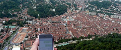 Photo of the Week: iPhone in Romania