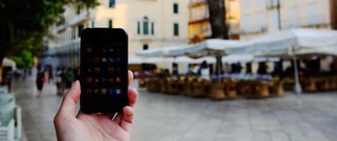 Photo of the Week: iPhone 3GS in Corfu