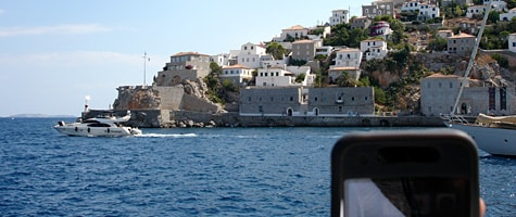 Photo of the Week: iPhone in Greece