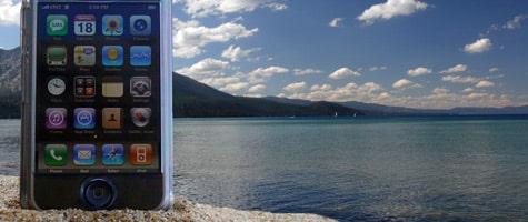 Photo of the Week: iPhone at Lake Tahoe