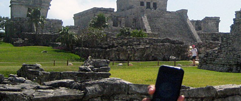 Photo of the Week: iPhone in Tulum, Mexico