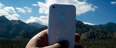 Photo of the Week: iPhone in Nevada