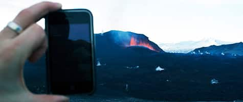 Photo of the Week: iPhone in Iceland