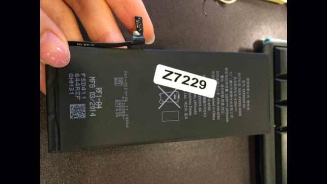 """Report: 5.5"""" iPhone 6 to use 2915 mAh battery"""