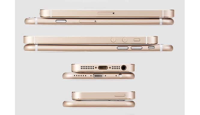 iPhone 6 antenna breaks to differ from mockups; curved display?