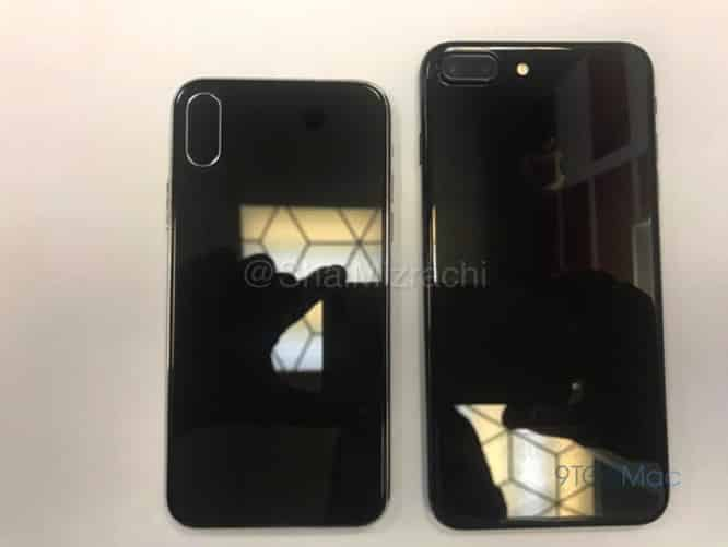New photos compare size of alleged iPhone 8 dummy to the iPhone 7 Plus