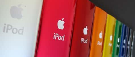 iPod nano 5G color comparison photos, video posted