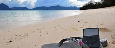 Photo of the Week: iPod in Palawan, Philippines