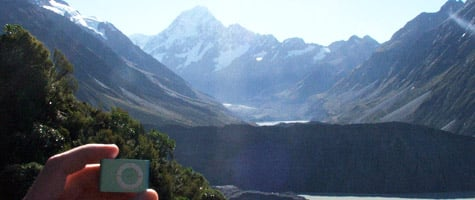 Photo of the Week: iPod shuffle in New Zealand